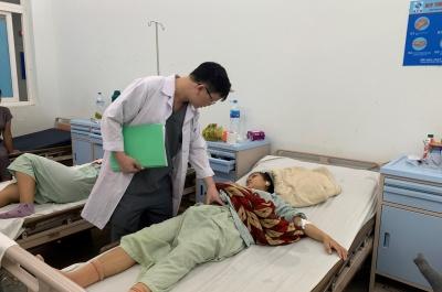 bệnh viện sản- nhi tỉnh:  cứu chữa kịp thời các sản phụ sinh con có biến chứng nguy hiểm